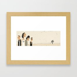 In Dog's Country Framed Art Print