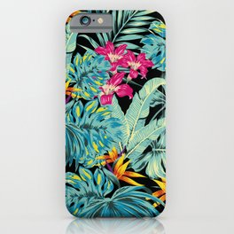 Tropical Greenery Island Dreams iPhone Case