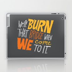Burning Bridges v.2 Laptop & iPad Skin