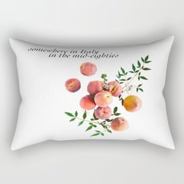Call Me By Your Name - Inscription Rectangular Pillow