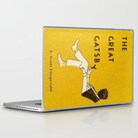 the great gatsby Laptop & iPad Skins featuring The Great Gatsby by MW. [by Mathius Wilder]