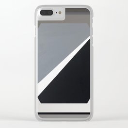 London - hexagon Clear iPhone Case