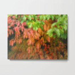 Fall Foliage by MRT Metal Print