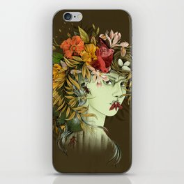 Persephone, goddess of Spring iPhone Skin
