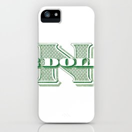 Retro 1928 Dollar iPhone Case