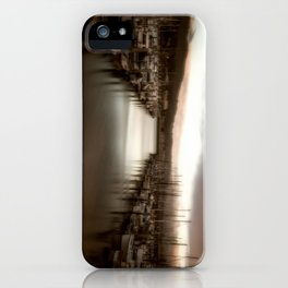 Unbalanced Half Moon Bay California iPhone Case