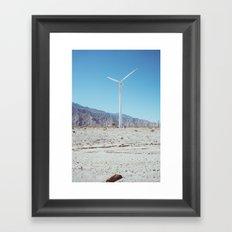 Palm Springs Windmills III Framed Art Print