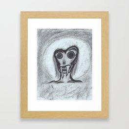 angel of grief Framed Art Print