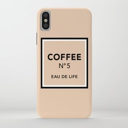 Latte No5 iPhone Case
