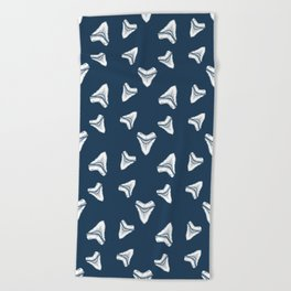 Sharks Tooth Pattern Beach Towel