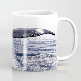 WHALE SONG 1 - DEEP DIVE Coffee Mug