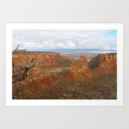 The Earth Below Art Print