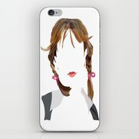 britney iPhone & iPod Skins featuring Britney by Bethany Mallick