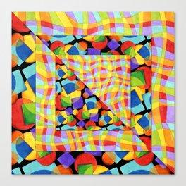 Candy Rainbow Medley Canvas Print