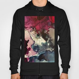 Dark Inks - Alcohol Ink Painting Hoody