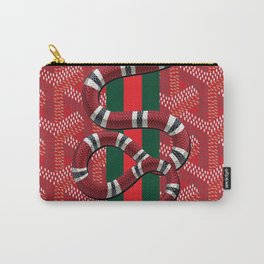 goyard snake red Carry-All Pouch