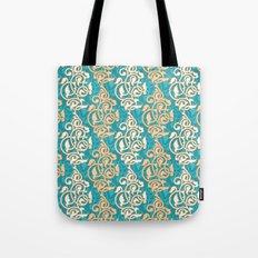 Arabesque seamless pattern Tote Bag