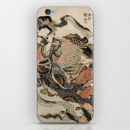 Hokusai, Aspara and the flute – musician manga, japan,hokusai,japanese,北斎,ミュージシャン iPhone Skin