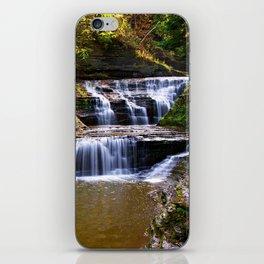 Cascata in autunno iPhone Skin
