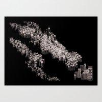 Invasion! Invasion! Art Print