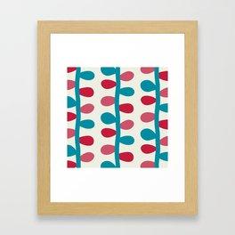 Like a Leaf [colours] Framed Art Print