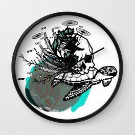 Sea Rules Wall Clock