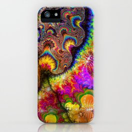 abstract 005: love iPhone Case