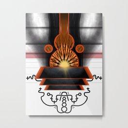 Physical Gateway of the Three Metal Print