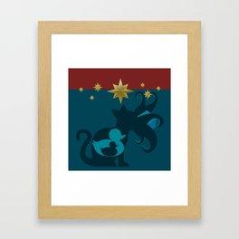 Duck, Duck, Goose Framed Art Print