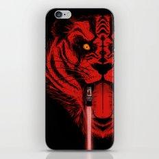 Dark Side Saber-Toothed Tiger iPhone & iPod Skin