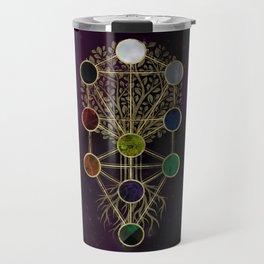 Kabbalah The Tree of Life - Etz Hayim Travel Mug
