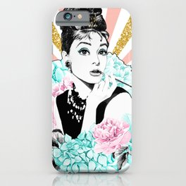 Iconic Audrey Hepburn iPhone Case