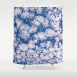 Cloud Pattern over Haines, Alaska by Mandy Ramsey Shower Curtain