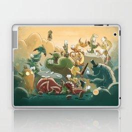Goblins Drool, Fairies Rule! - Team Goblin Laptop & iPad Skin