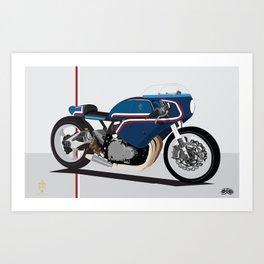 Suzuki Custom Kiki shop Art Print