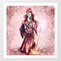 Queen Of H3arts Art Print