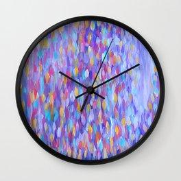 Rain Blossom Wall Clock