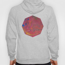 Marbling 3, Tie Dye Effect Abstract Pattern Hoody