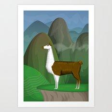 Andes Art Print