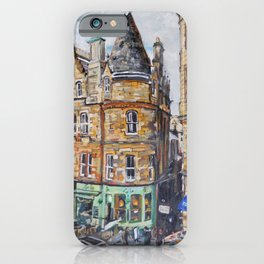 Cockburn Street, Edinburgh iPhone Case