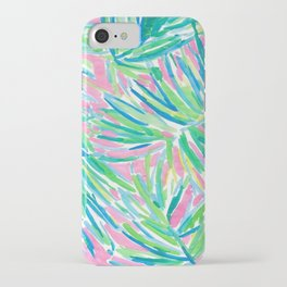 Lily inspired pastel iPhone Case