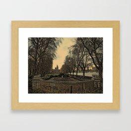 AtThePark Framed Art Print