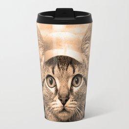 Baseball Kitten #2 Travel Mug