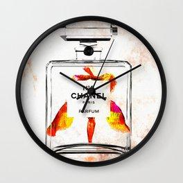 Bottle of Perfume Wall Clock