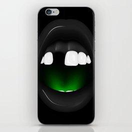 Neide - Dark version iPhone Skin