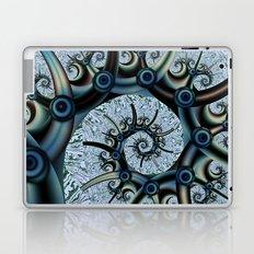 Spikes and swirls Laptop & iPad Skin