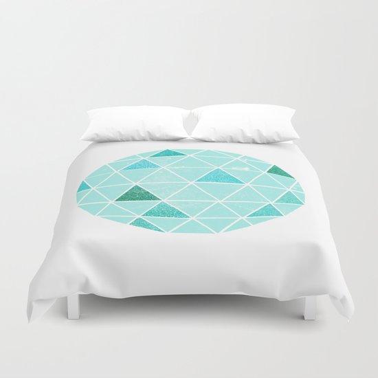 Geodesic 6 Duvet Cover