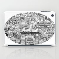 lost in translation iPad Cases featuring Lost In Translation by Candice Soon