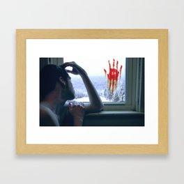 CABIN FEVER Framed Art Print
