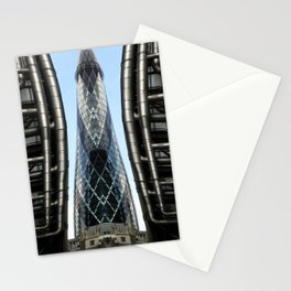 Modern Monolith  Stationery Cards
